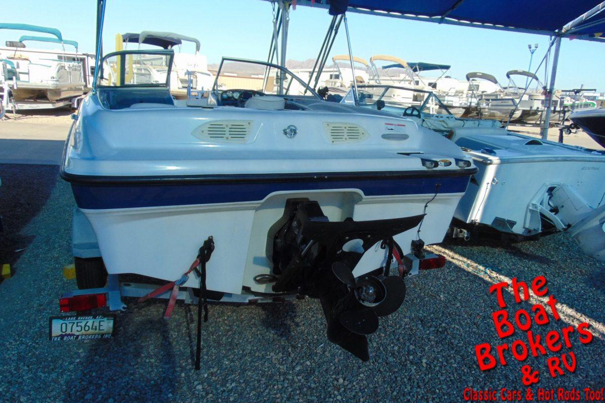 2008 18′ BAYLINER 185 BR OPEN BOW BOAT