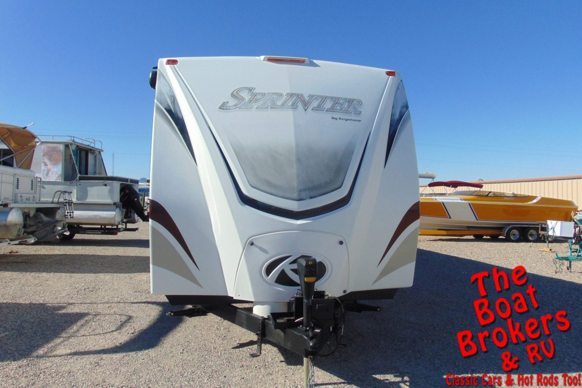 2014 KEYSTONE SPRINTER 370 FL TRAVEL TRAILER