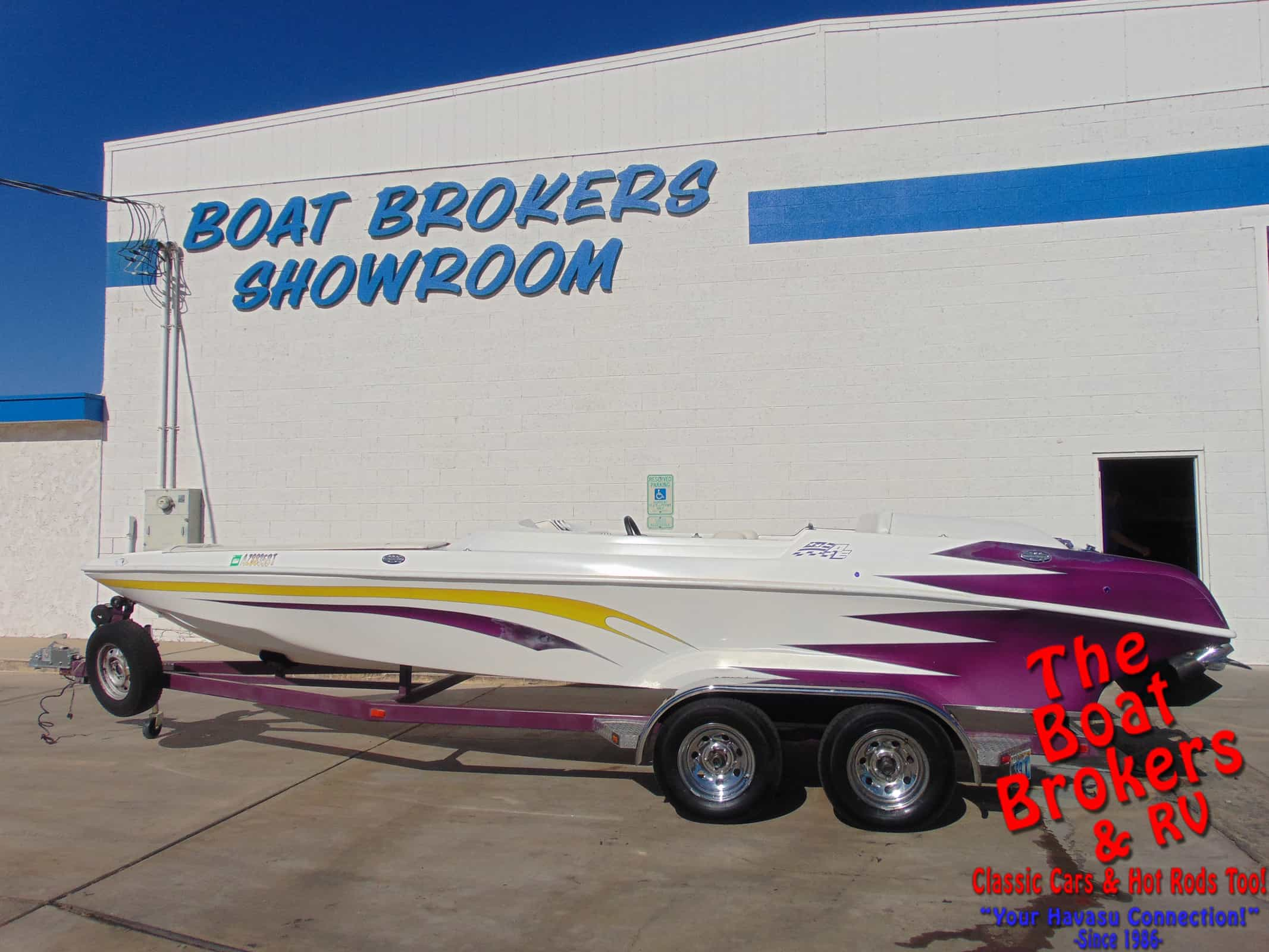 2003 BARRACUDA OPEN BOW TUNNEL Price Reduced!