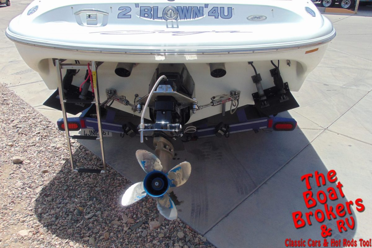 1996 BAJA BOSS 23' CUDDY CLOSED BOW