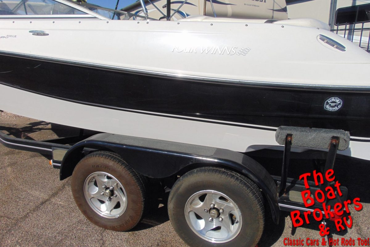 2005 FOUR WINNS HORIZON 20' OPEN BOW BOAT