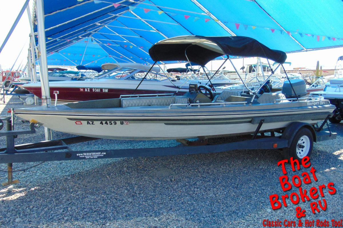 1980 RANGER 275V 17' FISHING BOAT