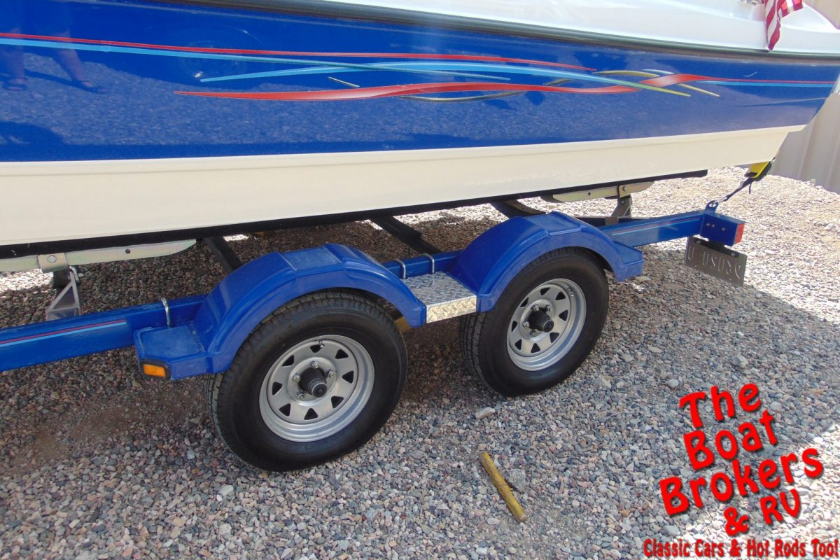 2006 22′ BAYLINER 225 OPEN BOW BOAT