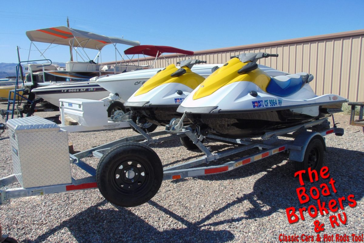 2015 YAMAHA JET SKIS 3 SEATERS