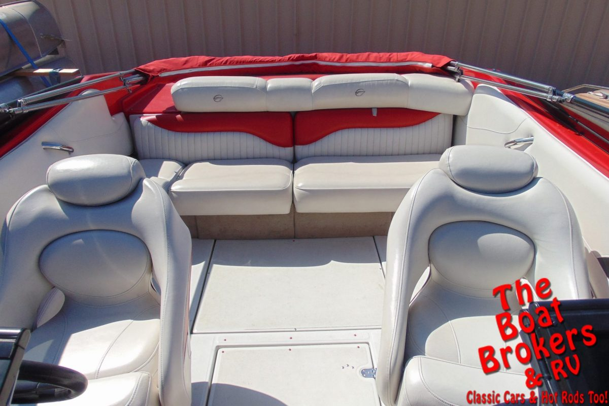 2007 CROWNLINE 21 SS OPEN BOW BOAT
