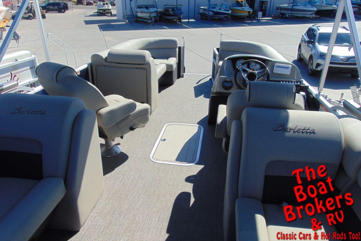 2020 BARLETTA C22QC 24' TRIPLE TUBE BOAT