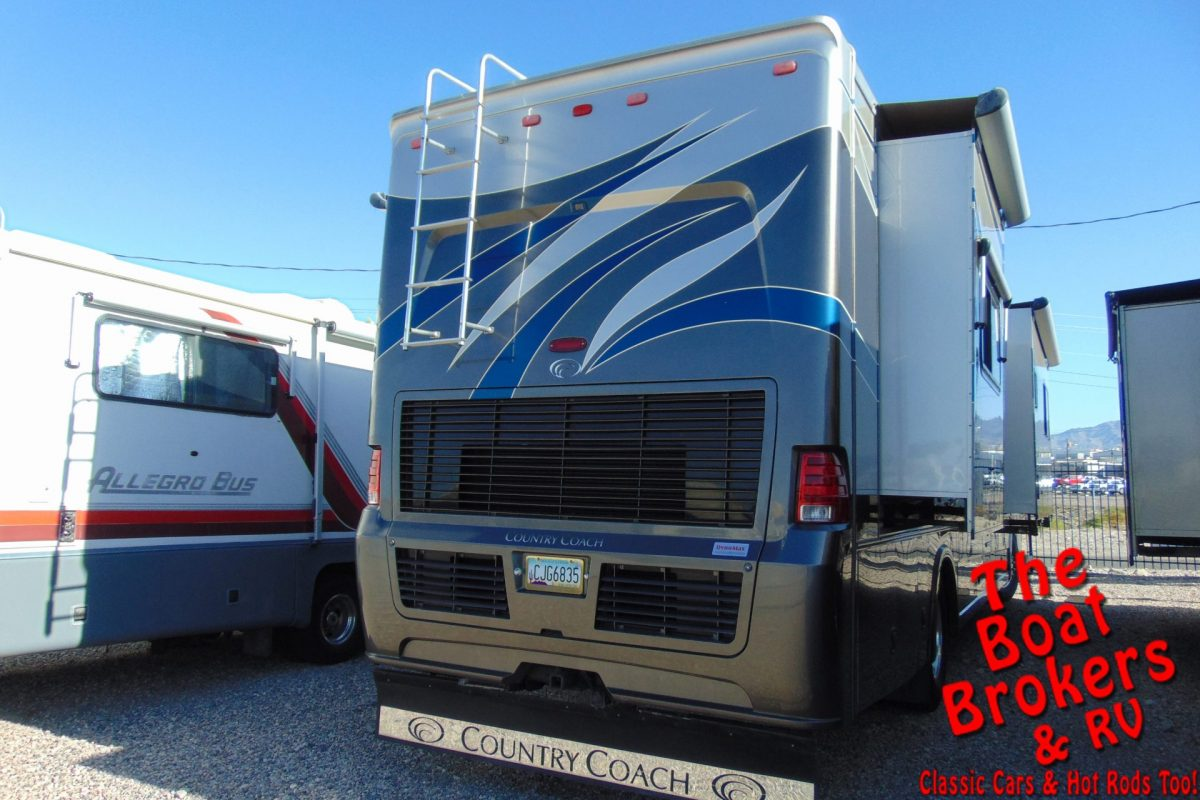 2007 COUNTRY COACH TRIBUTE 260 40' MOTORHOME