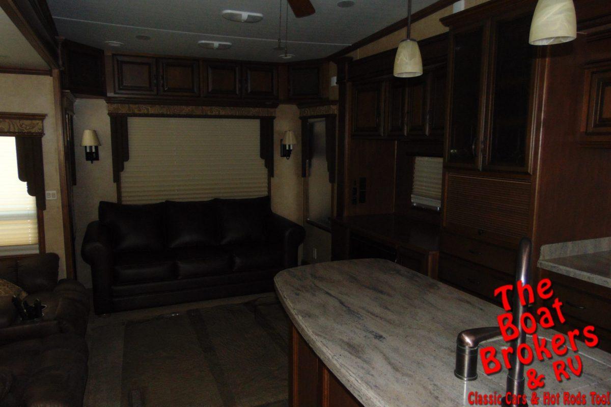 2012 DRV MOBILE SUITES 38RSSB3 5TH WHEEL 39'