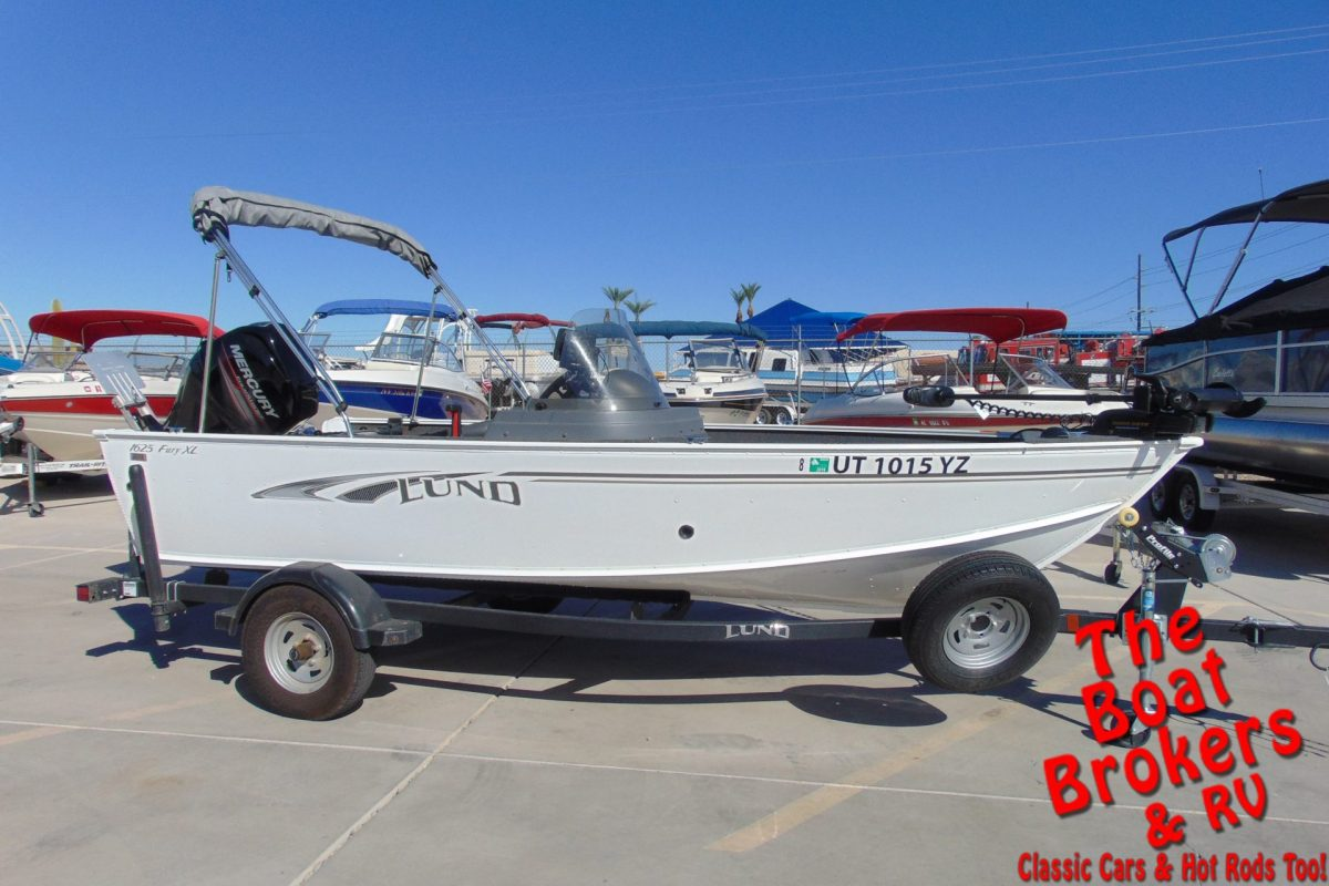 2019 LUND 1625 FURY XLSS 16' FISHING BOAT