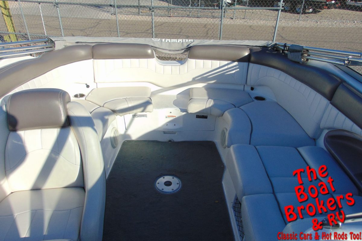 2007 YAMAHA SX 230 23' OPEN BOW BOAT