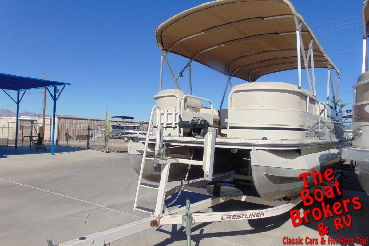2007 CRESTLINER 2285 LSI ANGLER PONTOON