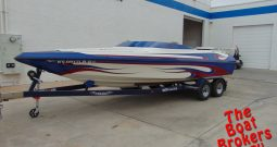 2004 ULTRA STEALTH 24′ MID CUDDY OPEN BOW BOAT
