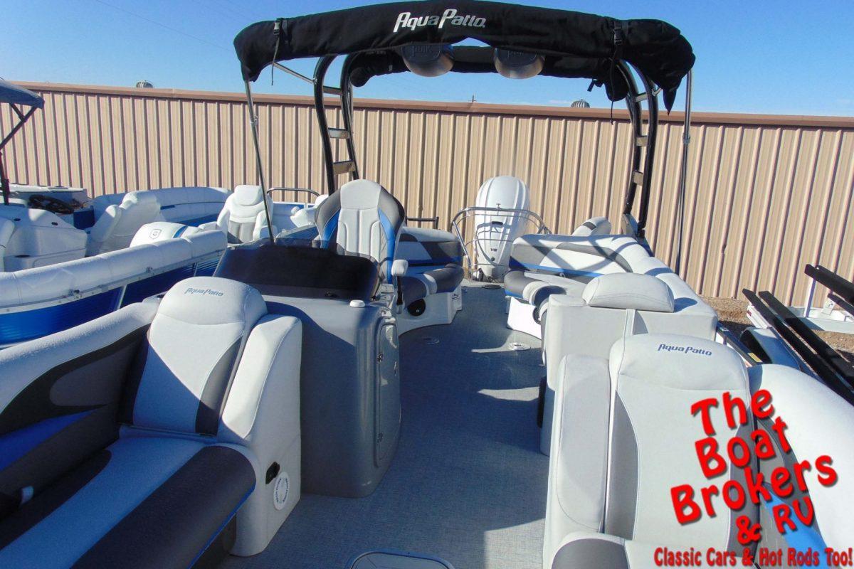 2020 GODFREY AQUA PATIO 250 XP 25' TRIPLE TUBE BOAT