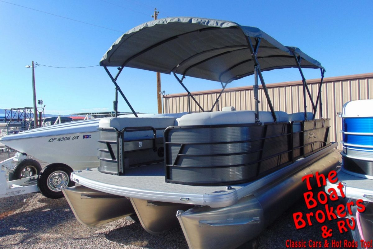 2019 GODFREY SWEETWATER FISHING 22' TRIPLE TUBE BOAT
