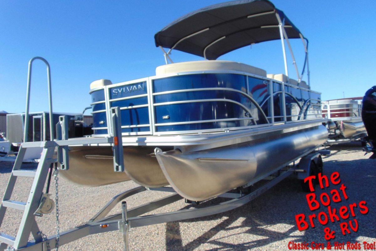 2019 SYLVAN MIRAGE 22' FISHING MODEL TRIPLE TUBE BOAT