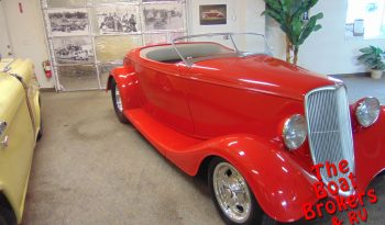 1933 FORD ROADSTER CUSTOM Price Reduced!