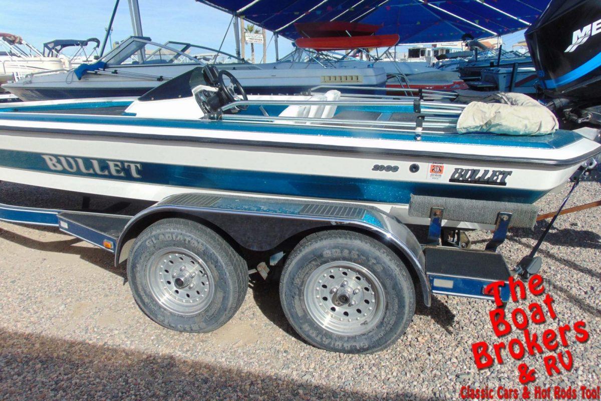 1998 BULLET 20 CC FISHING BOAT