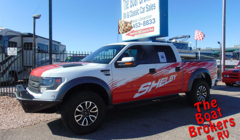 2013 FORD SHELBY RAPTOR PICKUP  Price Reduced!
