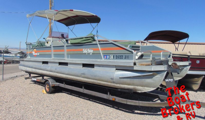 1987 TRACKER PARTY BARGE 24' PONTOON BOAT