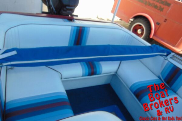 1987 BAHNER OPEN BOW BOAT