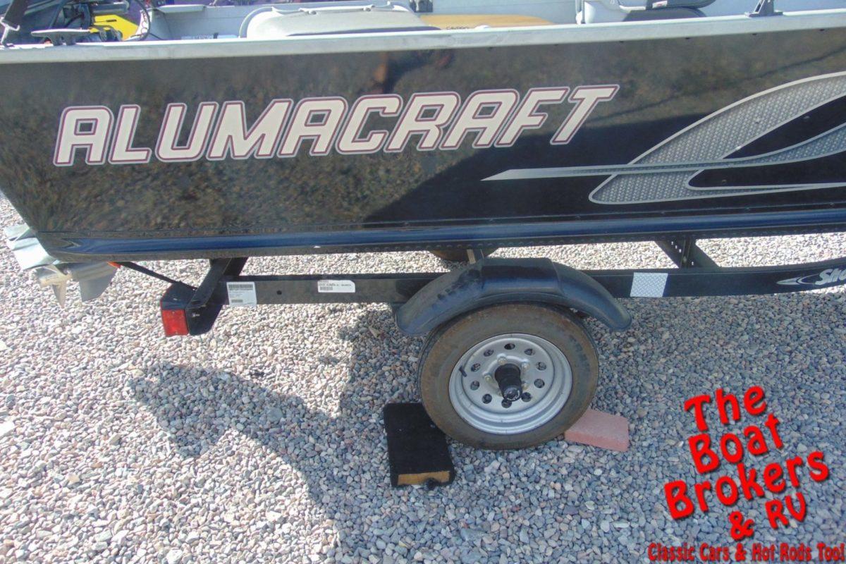 2014 ALUMACRAFT 16' FISHING BOAT