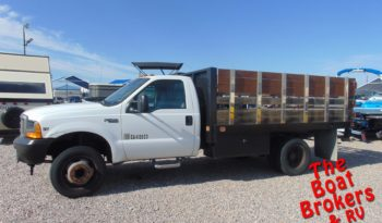 1999 FORD F450 DIESEL FLATBED TRUCK  Price Reduced!
