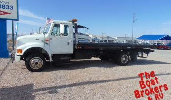 1998 INTERNATIONAL FLATBED TOW TRUCK  Price Reduced!