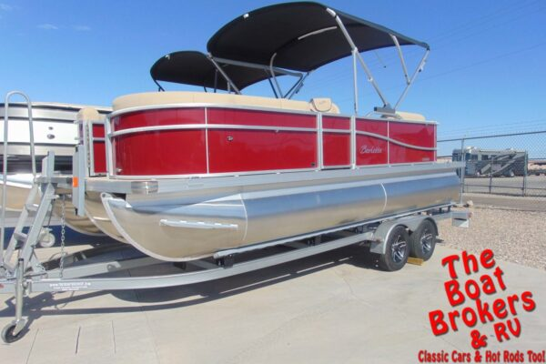 2021 BARLETTA C20QC 20' TRIPLE TUBE BOAT - Red