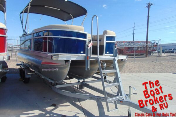 2021 BARLETTA C20QC 20' TRIPLE TUBE BOAT - Blue