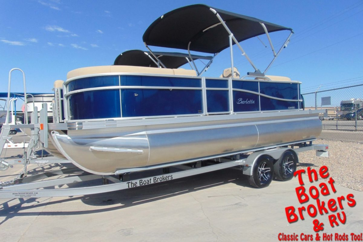 2021 BARLETTA C20QC 20' TRIPLE TUBE BOAT - Blue