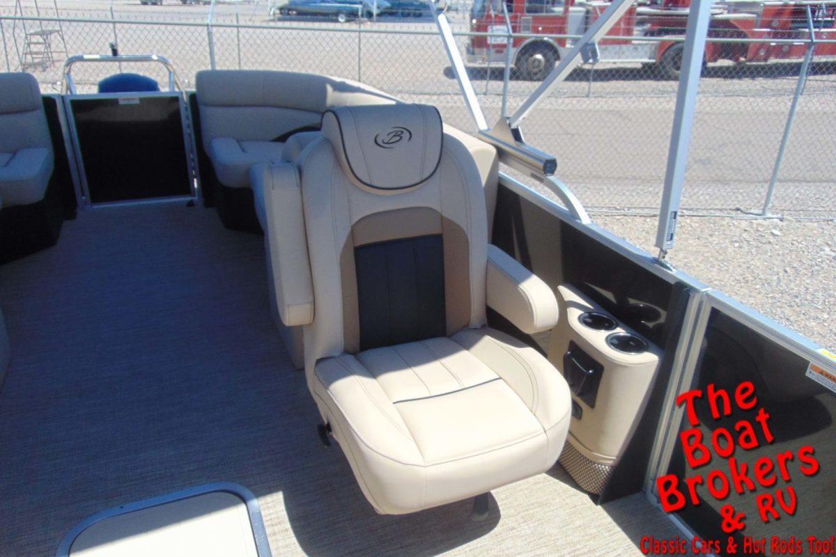 2021 BARLETTA C22QC 22' TRIPLE TUBE BOAT - Black