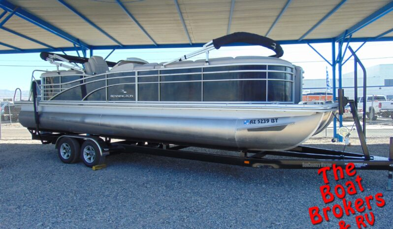 2014 BENNINGTON 2550 RSR TRIPLE TOON 26′  Price Reduced!