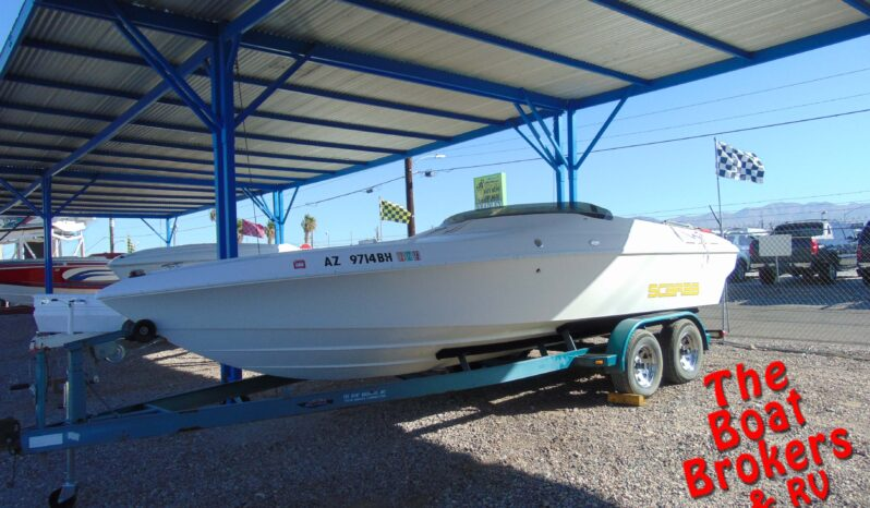 1995 WELLCRAFT SCARAB CLOSED BOW BOAT