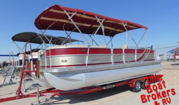 2014 FOREST RIVER SOUTHBAY TRIPLE TOON 24′ BOAT  Price Reduced!