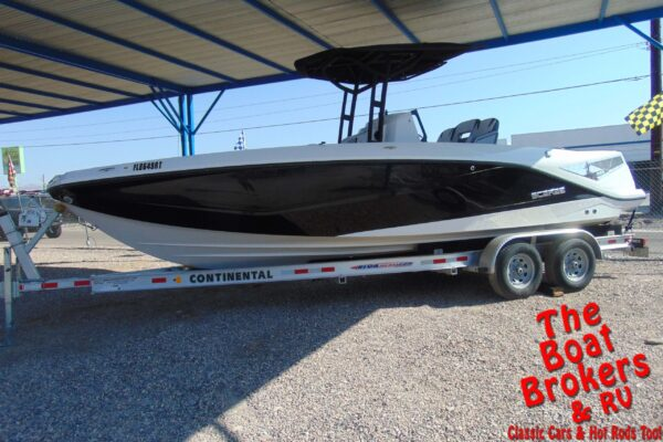 2018 SCARAB 255 OPEN G CENTER CONSOLE JETBOAT