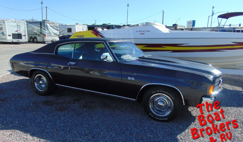 1972 CHEVY CHEVELLE SS BLACK  Price Reduced!