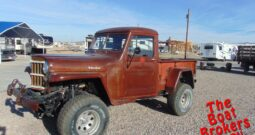 1961 WILLY'S PICKUP TRUCK  Price Reduced!