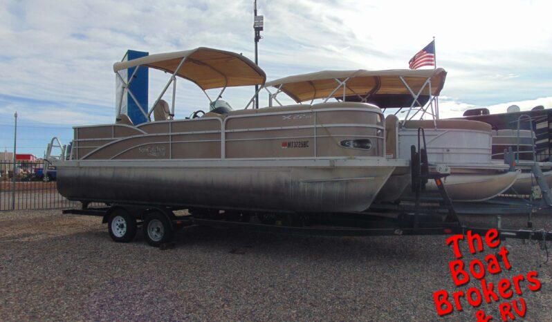 2013 G3 SUN CATCHER X322RF PONTOON 22′ BOAT