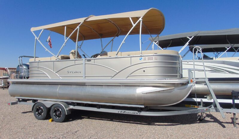 2019 SYLVAN MIRAGE 8522 TRIPLE TOON 24′