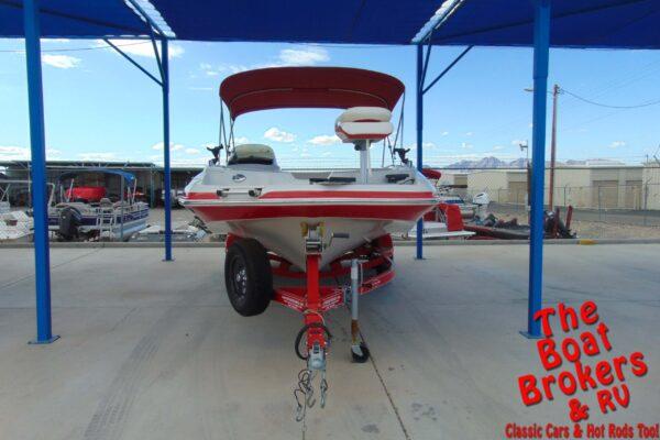 2007 TRACKER TAHOE 215 OPEN BOW BOAT