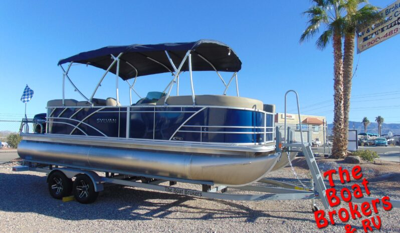 2021 SYLVAN MIRAGE 822LZ TRIPLE TOON 22′ BLUE