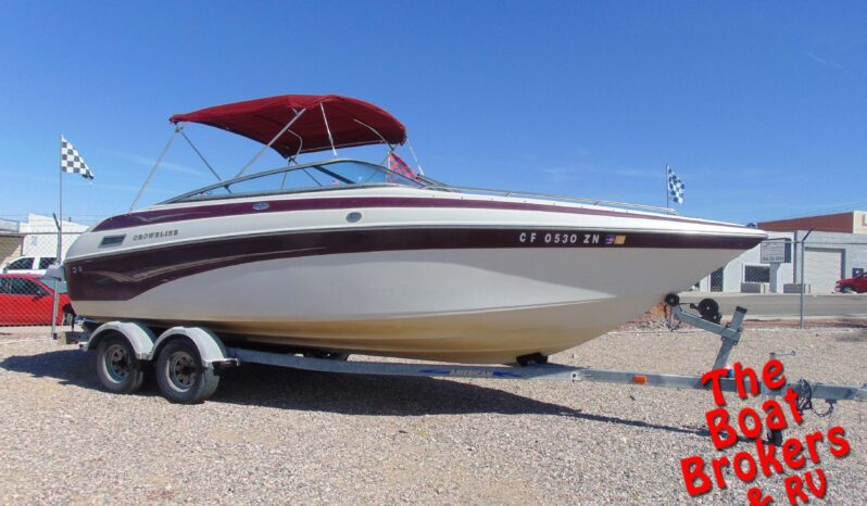 2003 CROWNLINE 230 BR OPEN BOW
