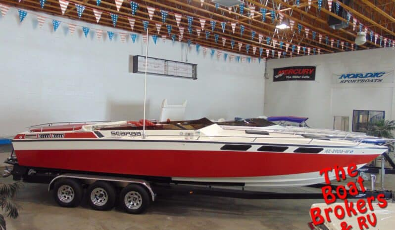 1979 WELLCRAFT SCARAB 30′ CLOSED BOW BOAT