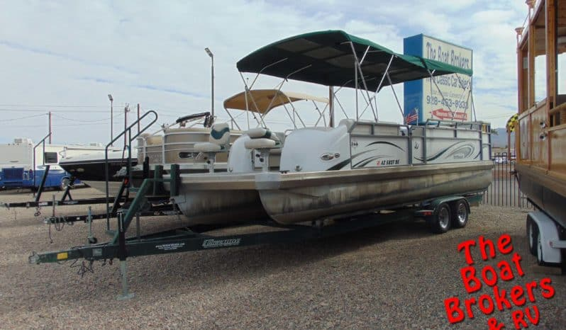 2002 JC 266 TRITOON PONTOON BOAT