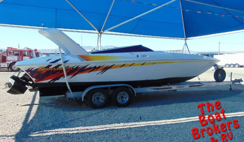 2002 SUNSATION CLOSED BOW BOAT