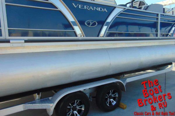 2017 VERANDA V22 RFL TRIPLE TOON BOAT