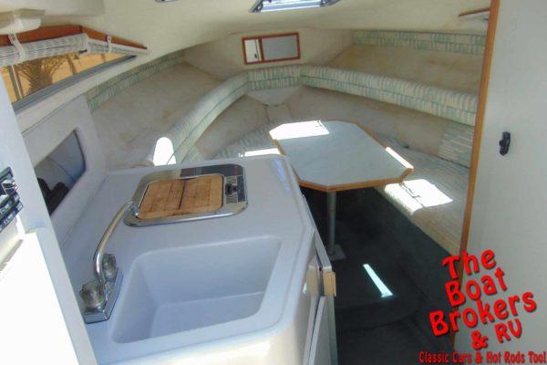 1991 SEA RAY 220 CABIN CRUISER