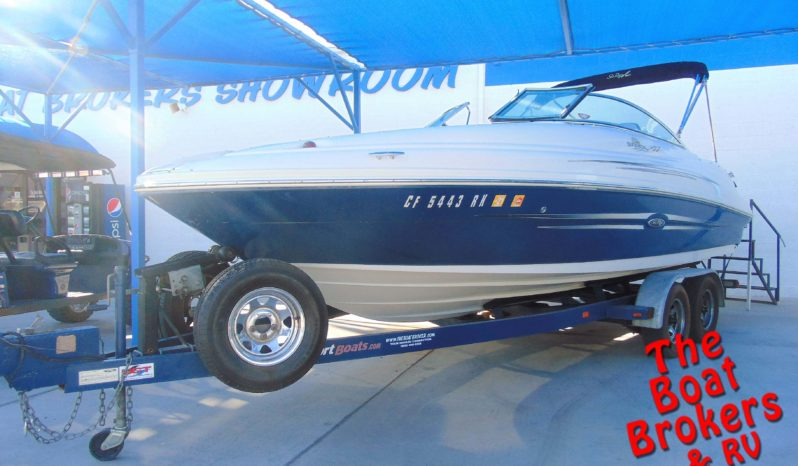 2007 SEA RAY 220 DB OPEN BOW BOAT